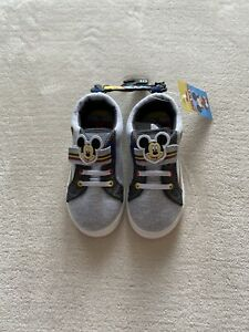 NWT Mickey Mouse Toddler Boy Shoes Size 10