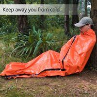 Reusable Emergency Sleeping Bag Thermal Waterproof Survival Camping Travel Bag