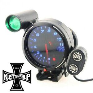 "TACHO DEFI STYLE. 3.5"" 11K RPM, SHIFT LIGHT, STEPPER MOTOR. DRIFT, JDM, RACING.."