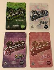 Runtz Gummies Mylar heat/zip seal,resealable,food grade Storage/Packaging Bags