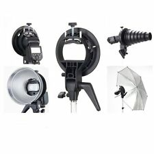 Godox S Bracket Bowens Mount Speedlite Adapter Holder for AD200 Camera Flash