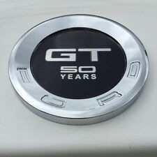 Car GT 50 YEARS Styling Rear Back ABS Emblem Sticker for Ford Mustang GT 2010 UP