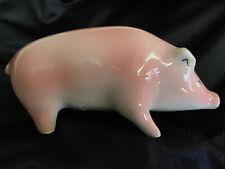 "Sargadelos Spain Pink Pig Porcelain Figurine  5.5"" EUC B2B"