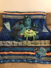 Disneys Monsters Inc Twin Size Comforter Set With Pillow Sham