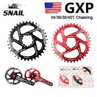 SNAIL 34/36/38/40T GXP Narrow Wide MTB Bike Chainring For SRAM  XX1 X9 XO X01