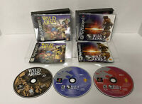 WOW!! Wild Arms 1 & 2 Playstation 1 PS1 Complete NewCase & Protective Covers