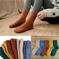 Thick 5 Pairs Women Winter All-match Fast Lady Casual Sock Soft Warm Socks