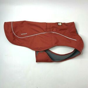 Ruffwear Overcoat Abrasion Resistant Fleece Lined Jacket Red Clay Small NWOT