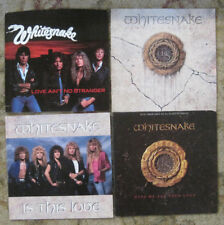 LOT of 4 WHITESNAKE 45rpm Picture Sleeves (ONLY) NO 45s!!