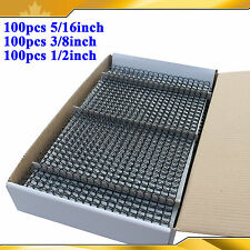 Black Color 300Sheet 3Size Spiral Coil for binder machine Binding Brand New