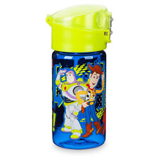 DISNEY Store WATER Bottle TOY STORY Flip Top Plastic NEW