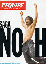 L'EQUIPE MAGAZINE N°506 tennis saga noah cyclisme
