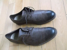 CLARKS MEN'S BROWN LACE-UP SHOES, SIZE UK 11