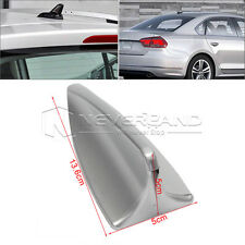 Car GPS decorative Dummy Roof Shark Fin Antenna Aerial Spoiler Universal Silver