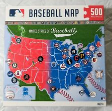 Baseball Map 500 PCS Puzzle MLB Baseball Teams Masterpieces
