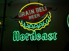 """New Grain belt Beer Nordeast Bottle Cap Neon Light Sign 24""""x20"""""""