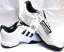 adidas Barricade 2018 Men's size 13.5 CM7819 White Black Tennis Shoes Tags NWOB