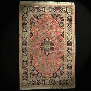 Alter Seidenteppich Ghom Seide sehr fein Orient-Teppich 159x109 ghoum rug tapis