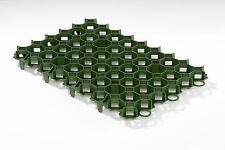 (26,27 € / m²) Rasenwabe, Gitter für Rasen mit 56 x 38 cm - 10 Stück