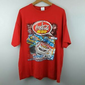 Gilden T-shirt Nascar Coca Cola 600 Lowes Charlotte 2007 XL