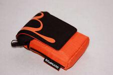 Olympus Neoprentasche Sport Fototasche  organge passend für TG-310 TG-320