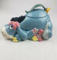 Disney Eeyore Cookie Jar Based on Winnie The Pooh Works by AA Milne EH Shepard