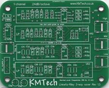 Lot de cinq linkwitz-riley 3-way filtre actif par Kmtech pcb bricolage v1.3