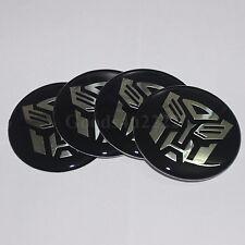 "4x Car 60MM(2.36"") Autobot Transformers Wheel Center Hub Cap Sticker Emblem"