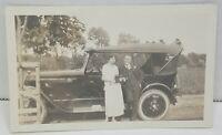 Harry Willie Phelps Marriage Car Automobile 1930s Vintage Photograph