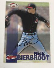 1999 Team Best Nick Bierbrodt High Desert Mavericks Autograph Auto AR18