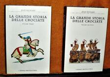 LA GRANDE STORIA DELLE CROCIATE JEAN RICHARD IL GIORNALE BIBLIOTECA STORICA 1999