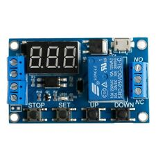 6-30V Adjustable Cycle Relay Module Switch Trigger Time Delay Circuit Timer