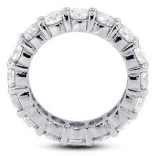5 1/2ct G SI1 Rund Erde Abgebaut Zertifiziert Diamanten 18k Klassisch Trauring