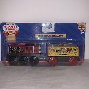 Thomas & Friends Celebration Salty Confetti Car Wooden Railway Train Engine NEW