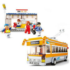Sluban M38-B0332 BUS Building Block Set 3D Construction Brick Toys Educational B