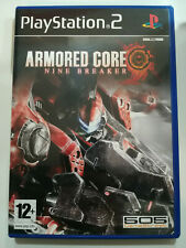 ARMORED CORE NINE BREAKER - PS2 PLAYSTATION 2