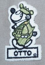 Otto Beetle Bailey Cartoon vintage patch  Character- SUPER RARE & Collectable!