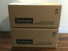 More details for technics 1210mk2 direct drive turntables, mint condition