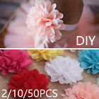 Craft Applique Chiffon Big Flower/Hair Ring Hair accessories Baby Headbands DIY