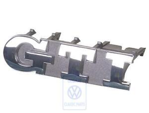 VW Golf MK4 GTI 25th Anni Front GTI Grill Emblem Badge Rad Grille Logo New OEM