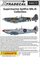 Xtradecal X48172  1:48 Supermarine Spitifre Mk.IXb / c / e Collection