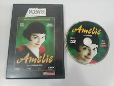 Amelie Audrey Tautou Jean Pierre Jeunet DVD Region 2 - ESPAÑOL FRANCAIS