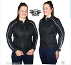 New Womens Blaze Air Vented Mesh Textile CE Armour Motorcycle Jacket