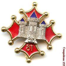 INFANTERIE. 81 eme Rgt Infanterie,RI.Fab. Drago Noisiel
