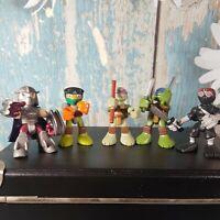 TMNT Teenage Mutant Ninja Turtles Action Figure Toys Bundle Job Lot