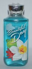 BATH BODY WORKS BEAUTIFUL DAY SHOWER GEL WASH SHEA BUTTER VITAMIN E 10OZ LARGE