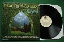 Peace In The Valley Marvin Gaye Jim Reeves Andy Williams Pat Boone + RTL2043 LP