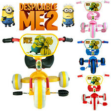 Despicable Me 2 Minion Trike Tricycle Toddler Kid Child 3 Wheels Car Ride on Toy