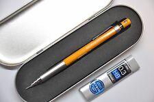 Pentel Graph 600 0.3mm Automatic Pencil Orange Barrel with Refill lead