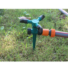 2x Garden Sprinkler 360° Rotating Watering System Yard Lawn Automatic Irrigation